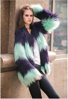 2017 autumn and winter new fashion high end temperament fur vest cream senior made fur vest coat