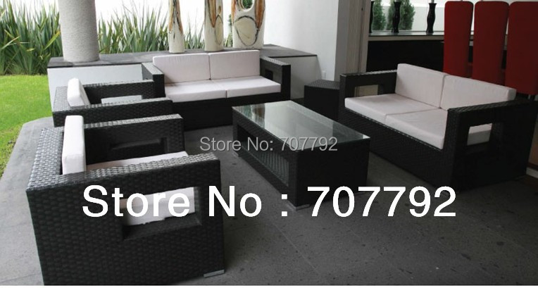 2017 Newm and Simply Outdoor Furniture Rattan Doulbe Sofa with Cushion China   Mainland. Compare Prices on Wicker Furniture Cushions  Online Shopping Buy