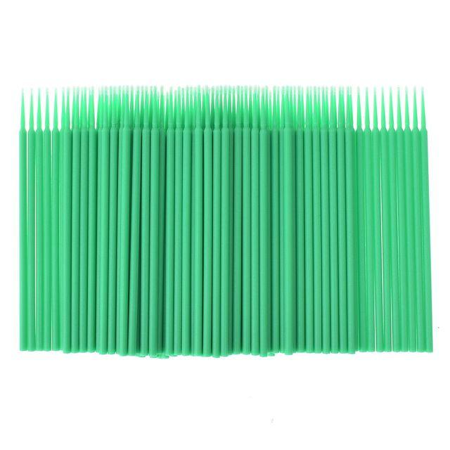 100pcs/lot Durable Micro Disposable Eyelash Extension Individual Applicators Mascara Brush For Women Wholesale
