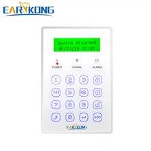 433 МГц Беспроводная клавиатура сенсорная клавиатура Поддержка меню направляющий дисплей только для наших M2B/M2C/M2E домашняя охранная сигнализация