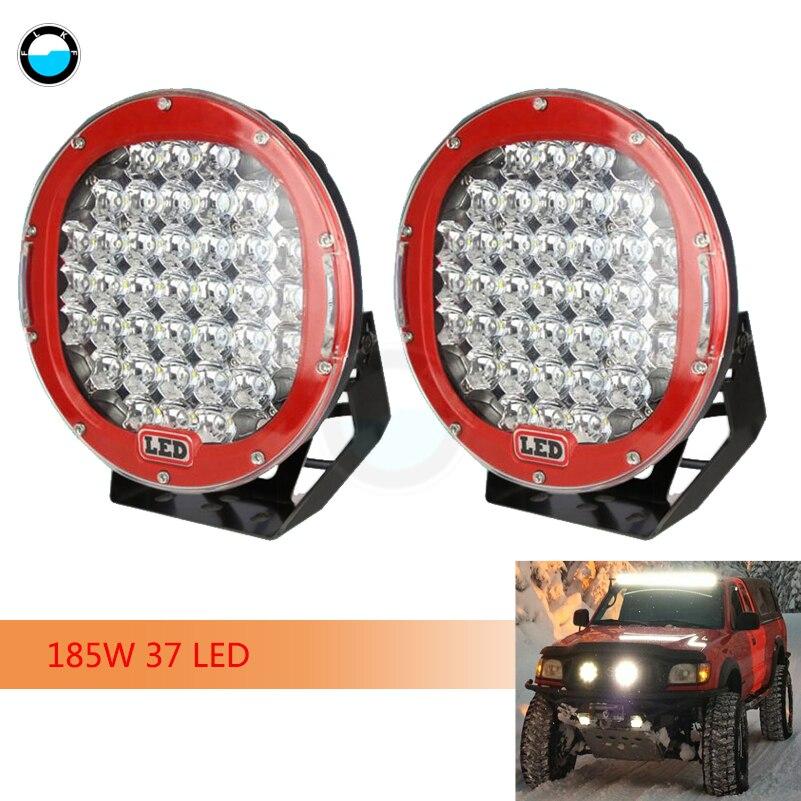 10 x 15W led lampe de travail 12V flood beam 24V camion jeep atv voiture bateau