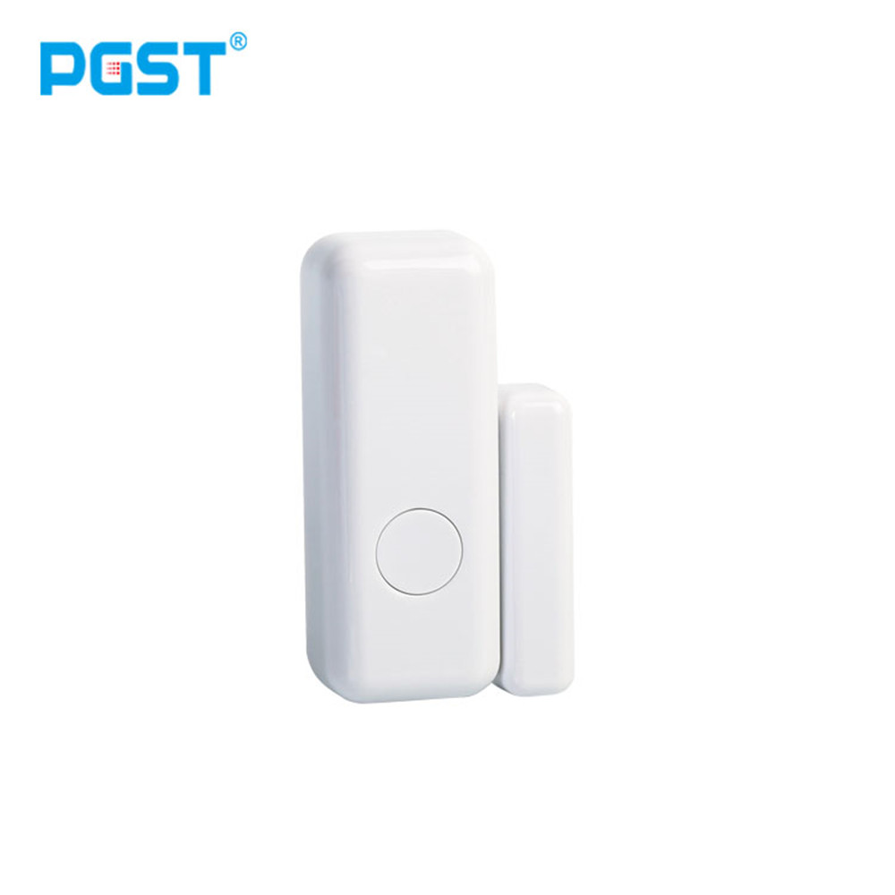 PGST 3/5/8pcs/lots WiFi 433mhz While Wireless Smart Open Window Door Sensor To Detect Door Home Alarm App Notification Alerts