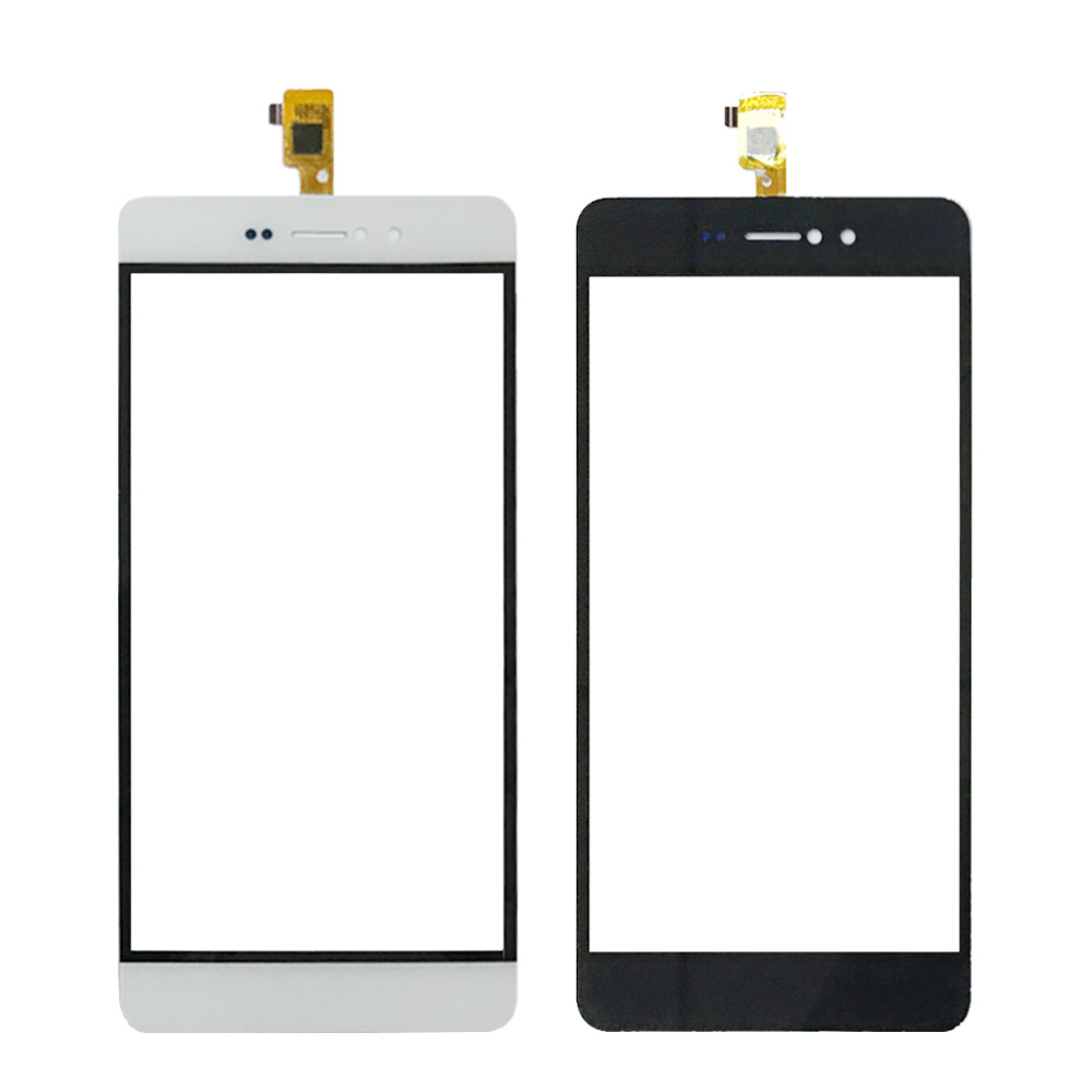 TOP Quality For Bravis A505 Joy Plus Touch Screen with No LCD Display Monitor Digitizer Sensor Glass Panel black Free Shipping