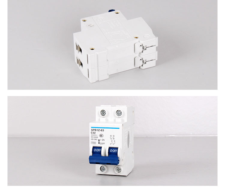 Wholesale Saipwell 2 Pole 440V 63A Miniature MCB electrical circuit ...