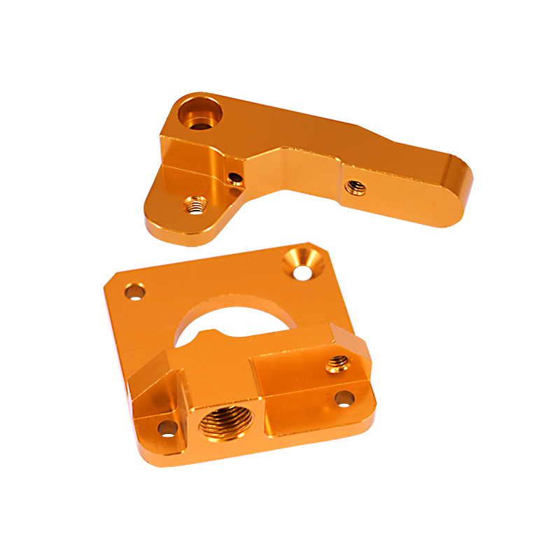 Image 2 - 15Pcs/Set 3D Printer Extruder Cr10 Extruder Remote Extruded Metal Block Oxidized Sandblasting Fittings-in 3D Printer Parts & Accessories from Computer & Office