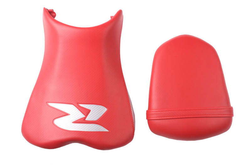 New Front & Rear Seat Cushion Combination For 2006 2007 Suzuki GSXR 600/750 Red