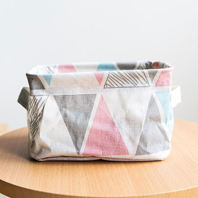 Foldable Colors Storage Bin Closet Toy Box Container Organizer Fabric Basket Jewelry Makeup Case