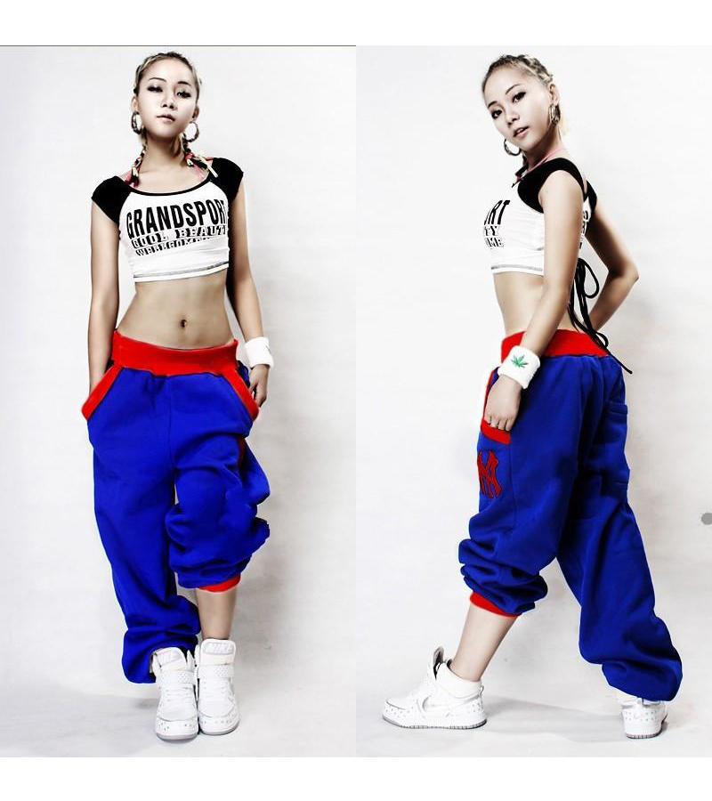 Leisure Pants Sportswear Hip-Hop Wholesale Lovers Casual Jazz Fall Ds-Costume Moletom