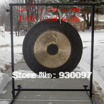 chinese traditional 22''chao GONG,brass gong arborea 22 wind gong with free mallet chinese traditional gong