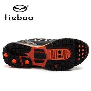 Image 4 - Tiebao Winter Fietsen Apparatuur Hoge Hulp Road Racing MTB PVC Zolen Mountainbike Schoenen TB22 B1285 Triatlon Zapatillas Ciclismo