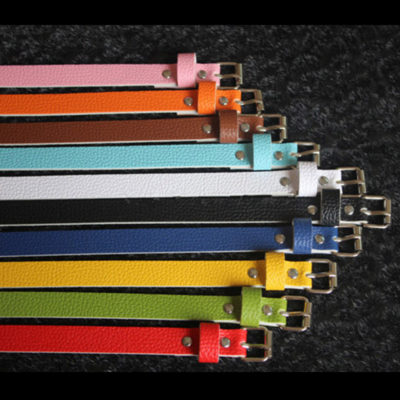 Colorful Women   Belt   PU Faux Leather Female   Belts   Black White Red Blue Green Orange Yellow Pink Brown Ladies Wholesale   Belt   Strap