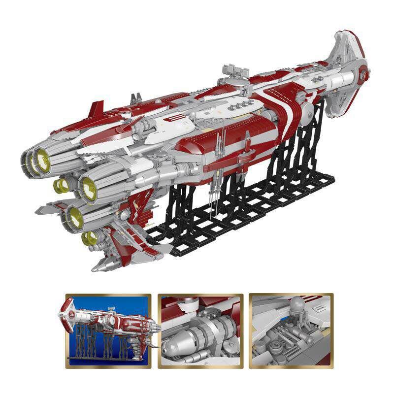 Lepin 05079 7956pcs Star Plan War Series The MOC Zenith Old Republic escort cruiser Set Building Blocks Bricks Kids Toys Gifts