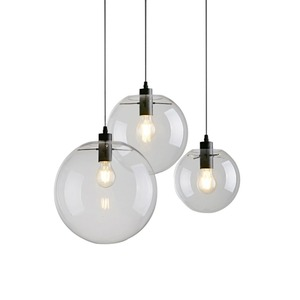 Image 1 - Bubble Pendant Light Glass Pendant Lighting Creative Decoration Fixtures for Bedroom Study Dinner Room Bar Modern Pendant light