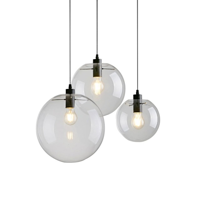Bubble Pendant Light Glass Pendant Lighting Creative Decoration Fixtures for Bedroom Study Dinner Room Bar Modern Pendant light