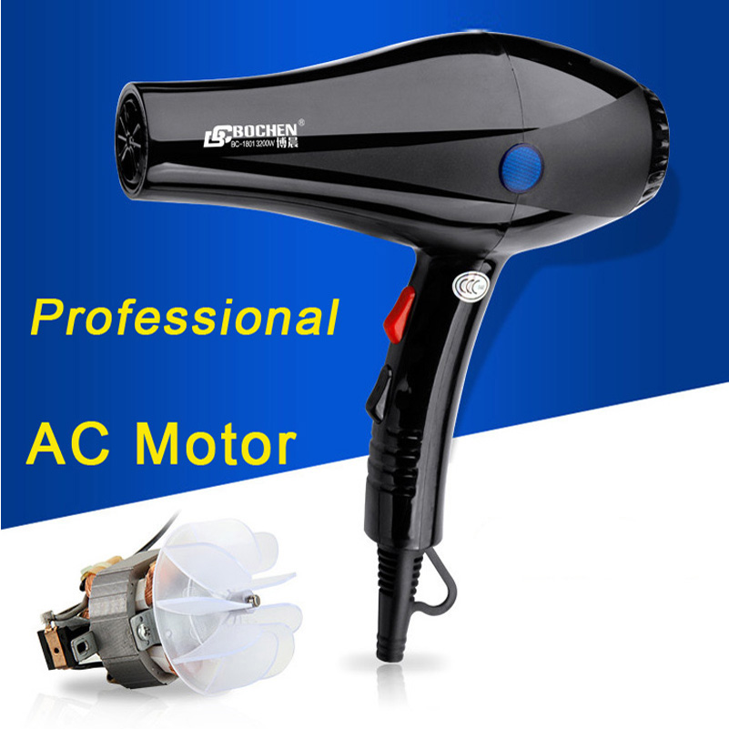 2200w strong power ac motor blow dryer professional hair for Ac motor hair dryer
