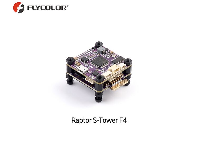 Flycolor 30.5x30.5mm Raptor S-Tower F4 OSD Flight Controller 40A BLS DShot600 ESC for RC Model Racing Drone цена 2017