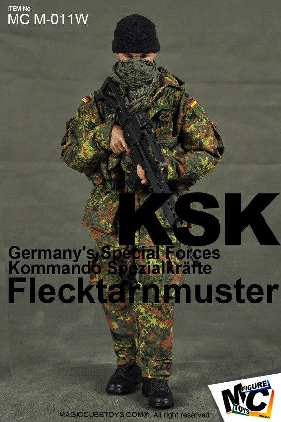 Magic Cube Toys German Special Forces KSK Desert Flecktarn 1//6 Figure IN STOCK
