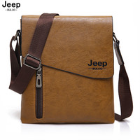 BULUO JEEP 2017 New Style Male Tote Bag High Quality Pu Leather Messenger Bags For Men