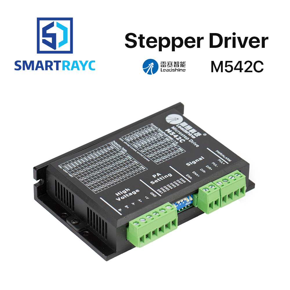 Smartrayc Leadshine 2 Phase Stepper Driver M542C 20-50 VAC 1.0-4.2ASmartrayc Leadshine 2 Phase Stepper Driver M542C 20-50 VAC 1.0-4.2A