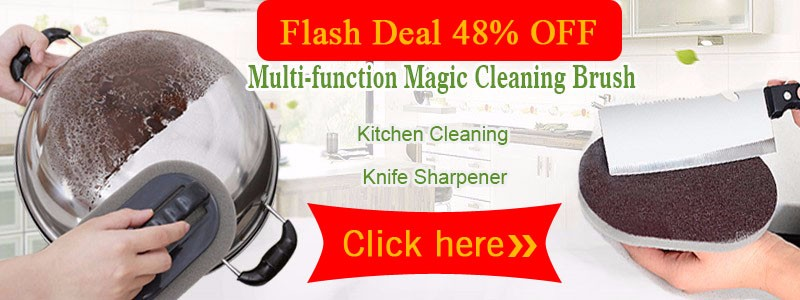 Flash Deal 48% off cleaning brush