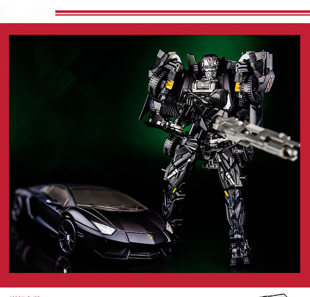 18cm Classic Best Transformation Plastic Alloy Robot Car Action Toy