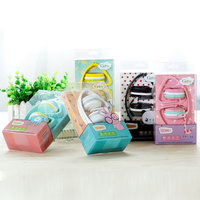 HOT Birthday Gifts Cute Headphones Candy Colors Foldable Kids Children Girl Headset Earphone For Xiaomi Mp3