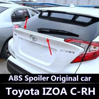 Para 2016-2018 Toyota C-RH spoiler de Material de ABS de alta calidad sin pintar Color spoiler para 2016-2018 Toyota IZOA spoiler