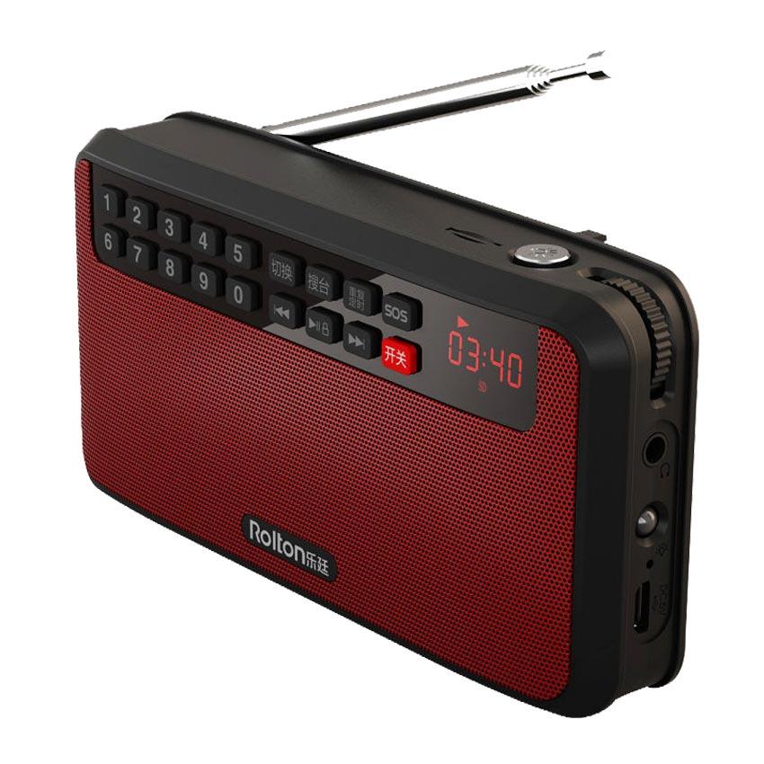 RoltonT60 MP3 Stereo Oyunçu Mini Portativ Səs Dinamiklər FM Radio - Portativ audio və video - Fotoqrafiya 6