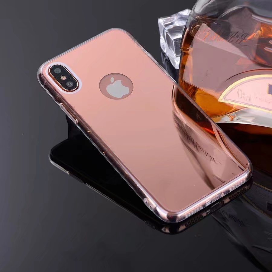 coque iphone x chrome