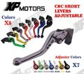 CNC Short Adjustable Brake Clutch Lever For Yamaha TDM900 2002 2003 TDM 900 02 03 NEW