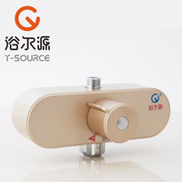 Free Shipping Low Price Hot Sale Thermostatic Faucet Shower Set Mixer Smart Thermo Bathroom Taps FT
