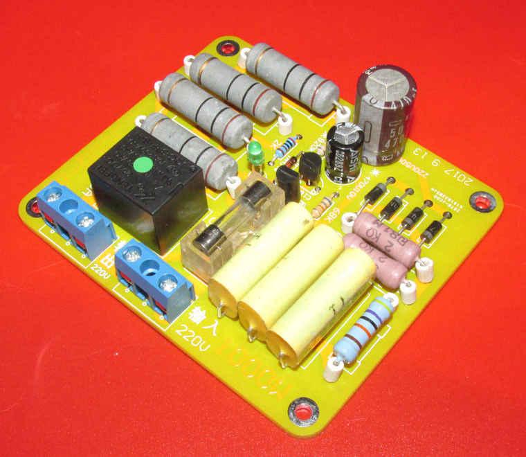 AC 220 V 1000 W Класс A Источник питания усилителя Switich трансформатор задержки защиты питания Мягкая пусковая плата