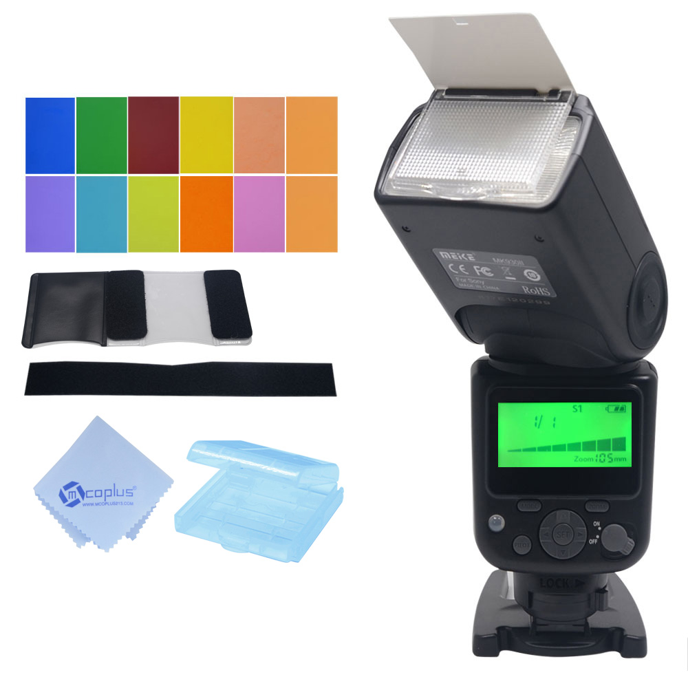 Meike MK930II S GN58 Flash Speedlite M Multi S1 S2 Mode for Sony NEX3 NEX5 NEX6