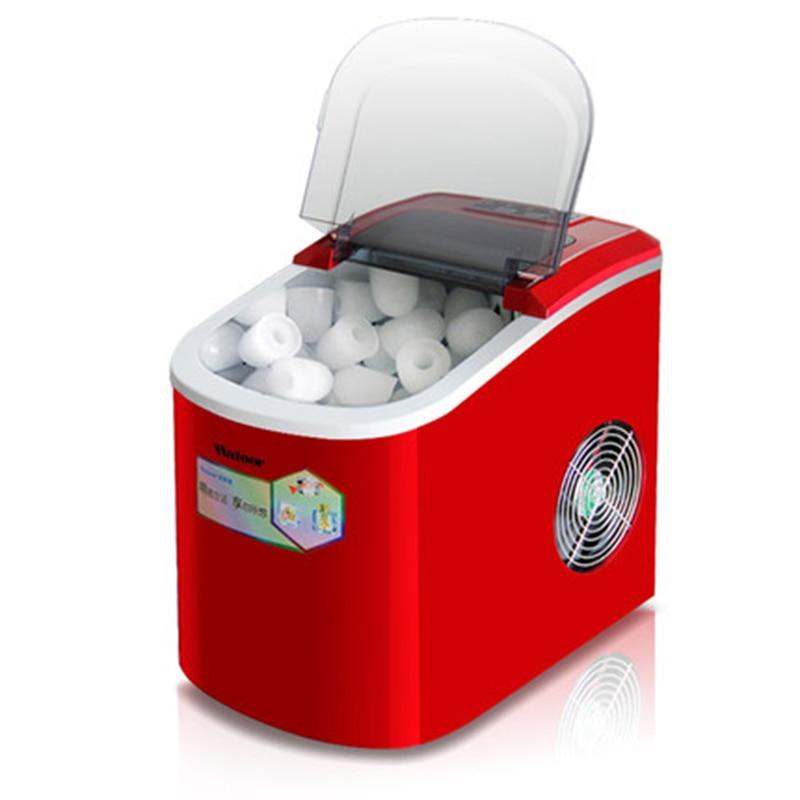Nett Automatische Eismaschine Kommerziellen Mini Kugel Runde Ice Cube Block Die Maschine Kleine Bar Milch Tee Shop Großgeräte