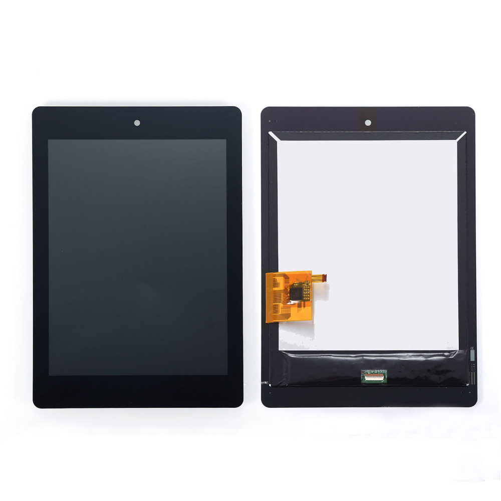 Replacement Full LCD Display + Touch Screen Digitizer Assembly repair part For Acer Iconia A1-810 A1 810 Tablet free shipping for acer iconia tab a1 a1 810 a1 811 a1 810 tablet pc touch screen panel digitizer glass lens sensor repair parts replacement
