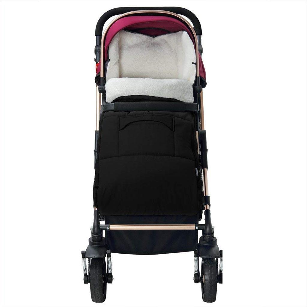 Image 5 - Детская коляска, спальный мешок, конверт для коляски, теплый толстый спальный мешок, универсальная муфта для ног, удобный фартук для коляски-in Спальники from Мать и ребенок