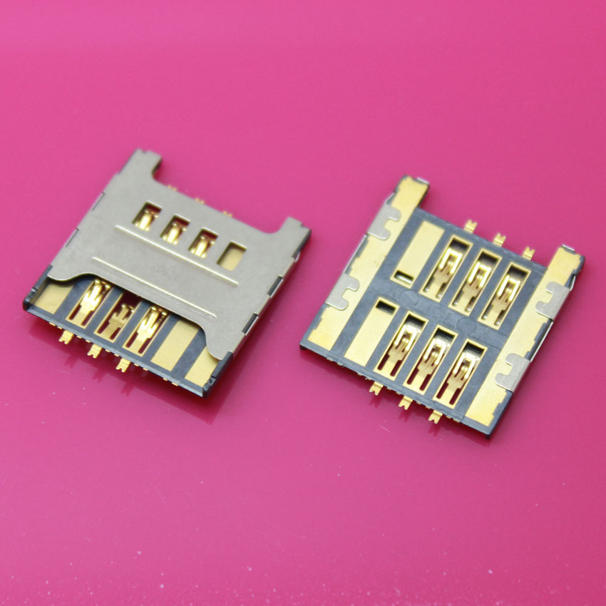 YuXi 20pcs/lot SIM Card Slot Reader Holder SIM Card Socket Replacement Part for SAMSUNG I9250 I917 I919