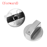 2Pcs Switch Gas Stove Parts Metal Knob Cooker Oven Kitchen Control Universal New (forward)