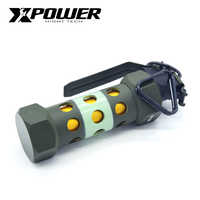 XP XPOWER M84 flashbomb 1:1 Boutique model AEG Toys Metal Green