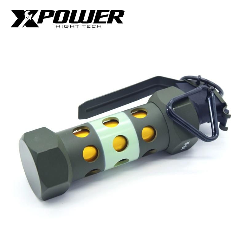 XP XPOWER M84 flashbomb 1:1 Boutique modell AEG Spielzeug Metall Grün