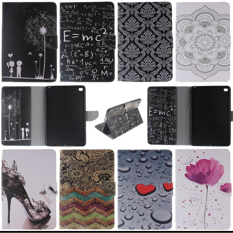 For Apple iPad Mini 4 Cover Case Smart Wallet PU Leather Stand Protective Cases Covers funda For iPad Mini4 A1538 A1550 tablet чехол книжка momax core smart case для ipad mini 4 красный