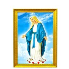Diamond Embroidery Picture Religious Cross New 30*40Cm Crystal Icon custom photo