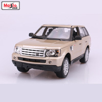 1:18 Simulation alloy SUV car model Toy For Range Rover with Steering wheel control front wheel steering toy for Children