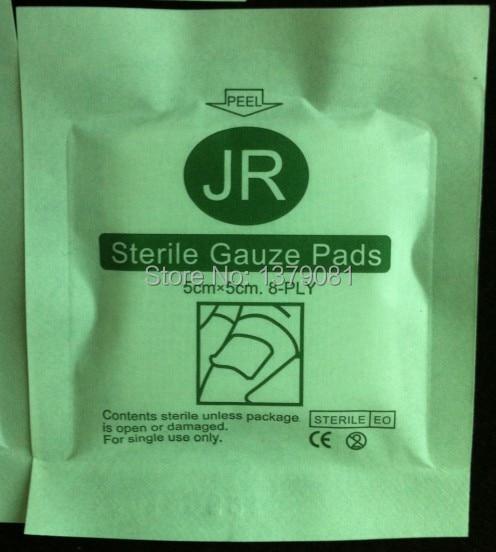First aid kit sterile gauze swab piece sterile gauze block gauze piece 8-PLY 5*5cm