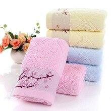 Twistless простые цветные хлопковые ветки сливы короткие полотенца