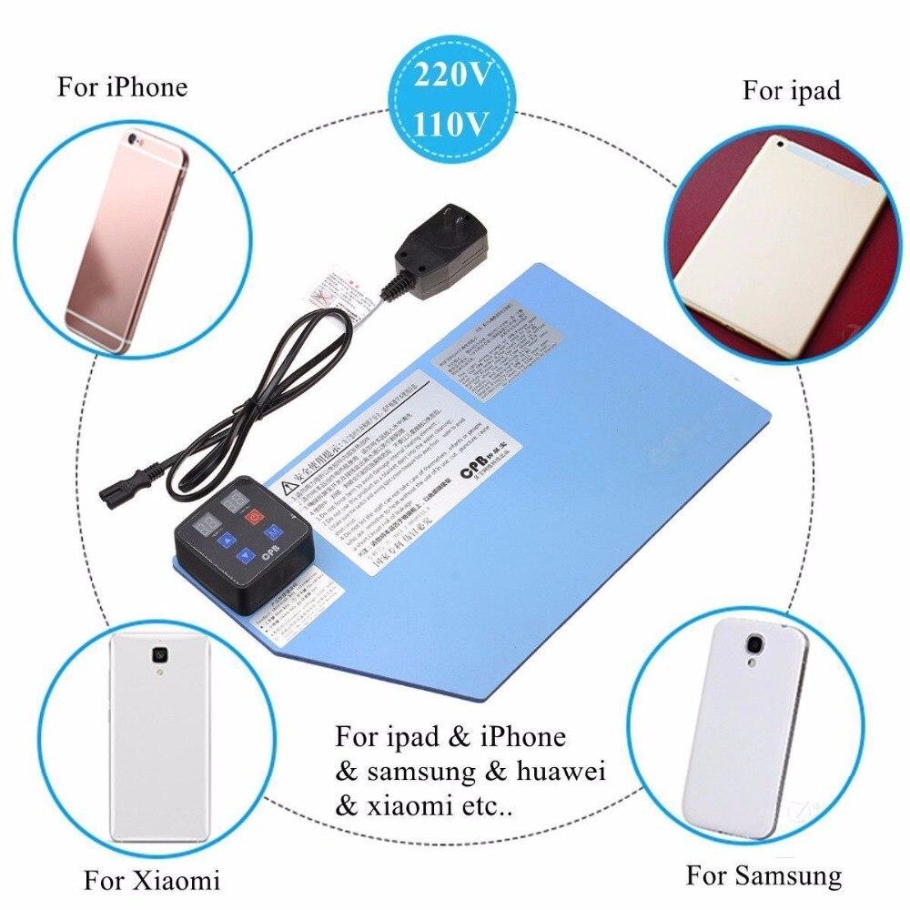 Wozniak Station de chauffage Pad LCD téléphone portable écran tactile séparateur plaque chauffante - 2