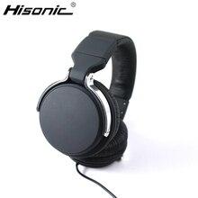 Hisonic Casque Bandeau Filaire DJ Données Câble en métal Pour iPod casque audio Casque écouteur Séparable Avec Microphone casque