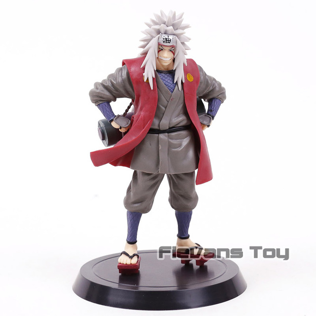 naruto shippuden pervy sage jiraiya pvc figure doll collectible