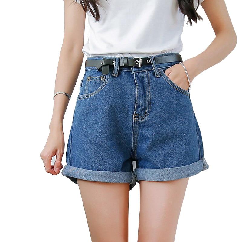 2017 Casual Jean Solid Women Clothing Denim   Shorts   with Pockets New Arrival Harajuku Summer Ropa Mujer Slim   Short   Pants Feminino