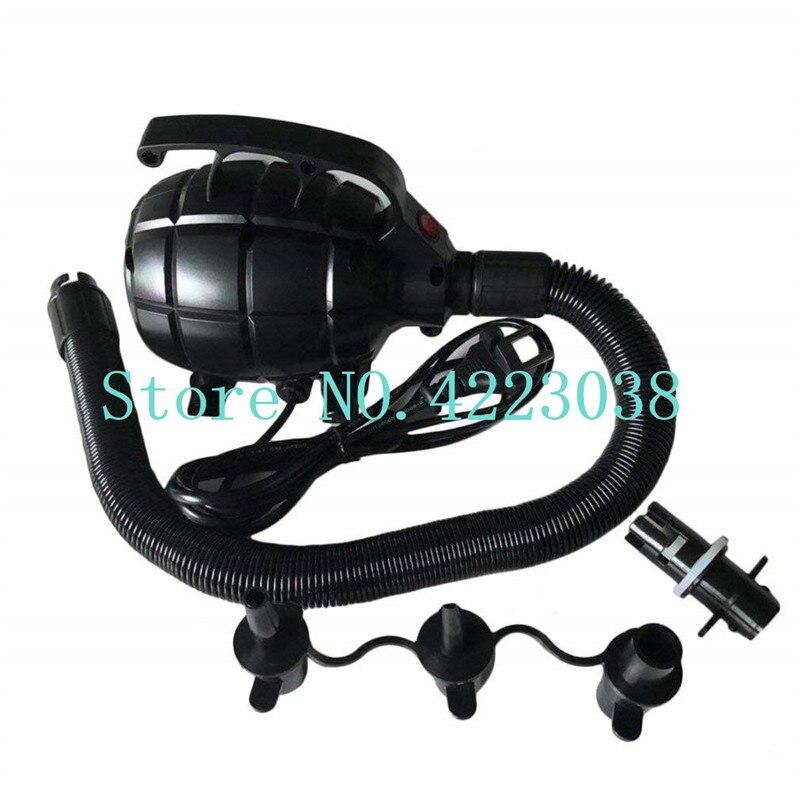 Livraison gratuite pompe à air pulseur 800 W/1200 W/1800 W pour boule de zorbing, boule pare-chocs, football à bulles, boule à eau